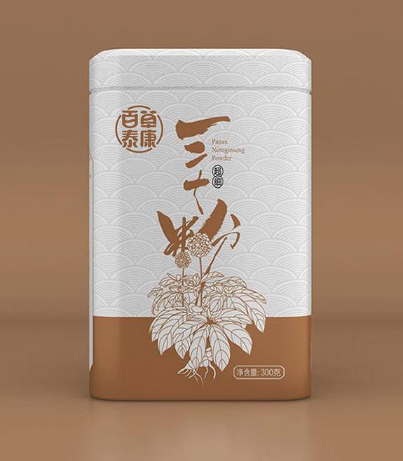 百草泰康产品包装盒设计