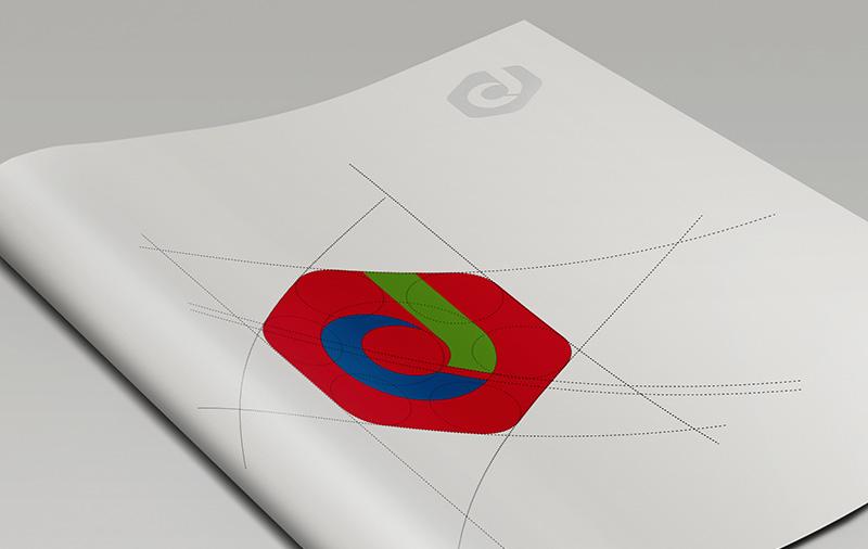 常佳化工标志标准制图设计