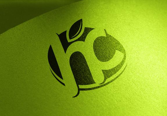 宏程果业标志设计