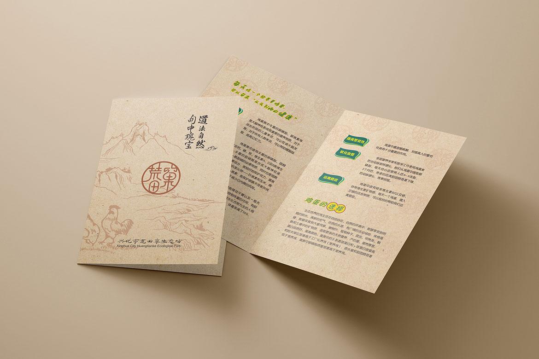 荒田窠宣传单设计