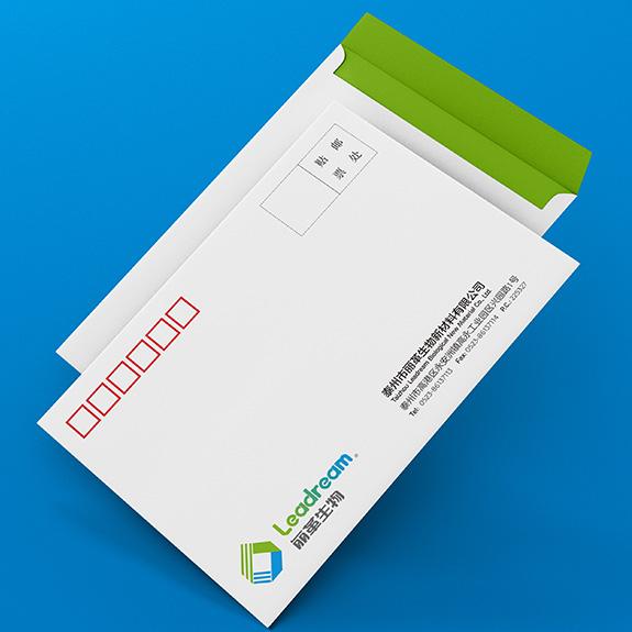 丽革生物信封设计