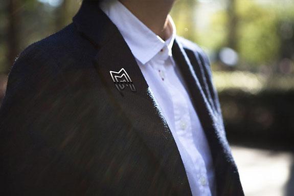雷亮方胸牌设计