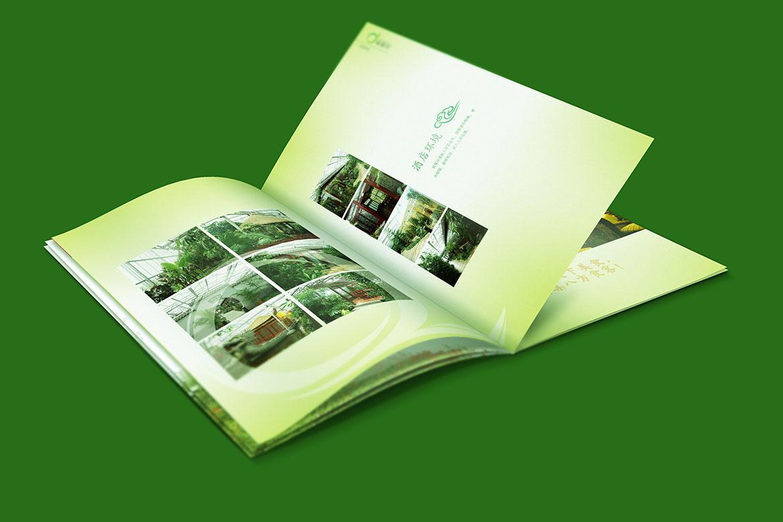 麒麟湾宣传册内页酒店环境设计