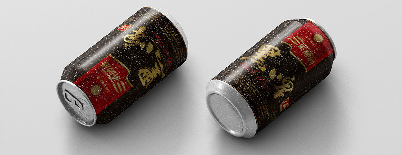 三泰啤酒易拉罐外观设计
