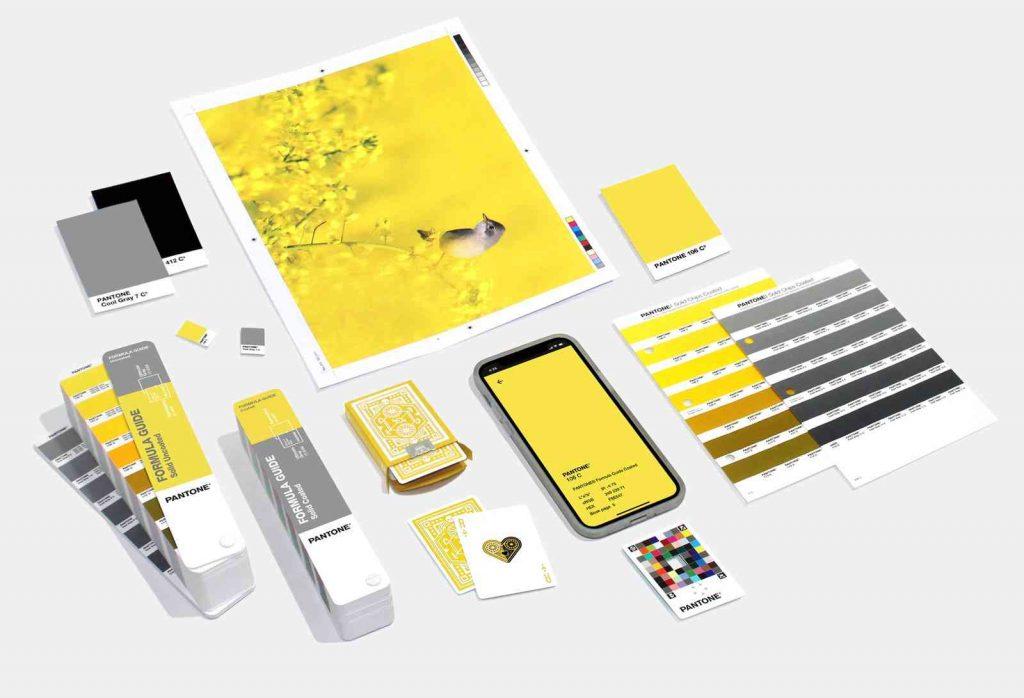 潘通2021年度代表色发布:极致灰+亮丽黄
